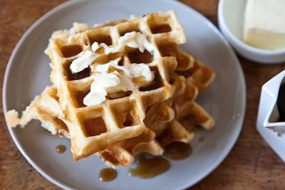 waffles of insane greatness via food52