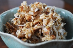 coconut macaroon granola via free coconut recipes