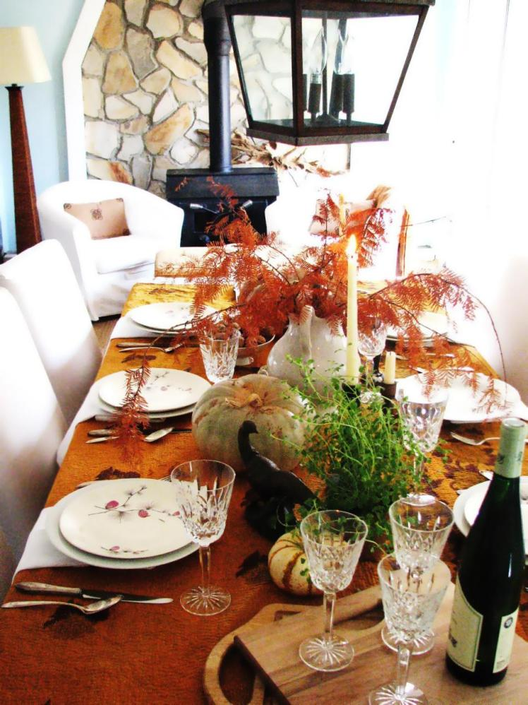 fall table settings