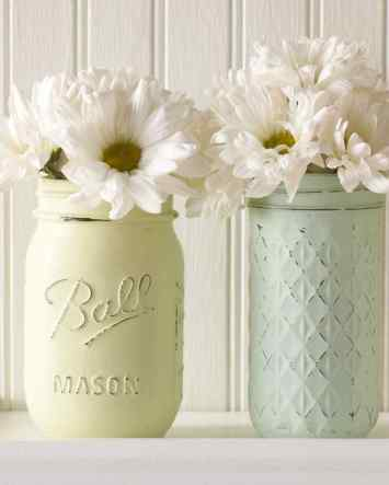 vintage floral vases via martha stewart