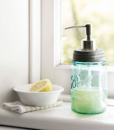 soap dispenser via country living