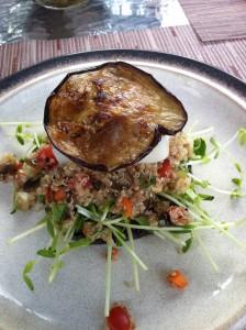quinoa and eggplant sandwich via sos vegetarian life