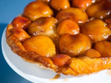 apple* and pear* tarte tatin via serious eats