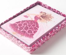 6. papyrus pink animal cards