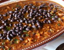 butternut squash black bean chili via meatless monday