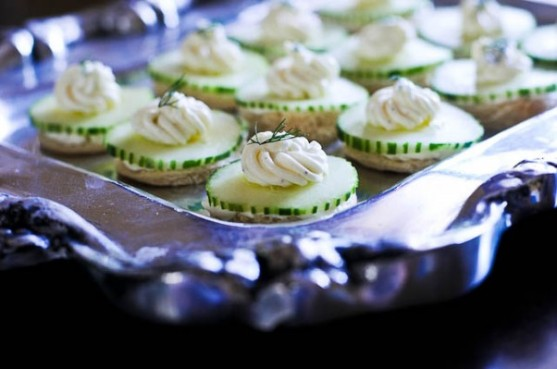 cucumber tea sandwiches via add a pinch