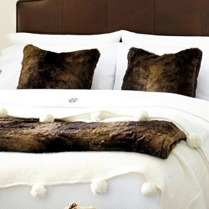 faux fur collection via ballard designs