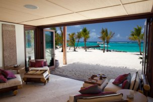 necker island beach house