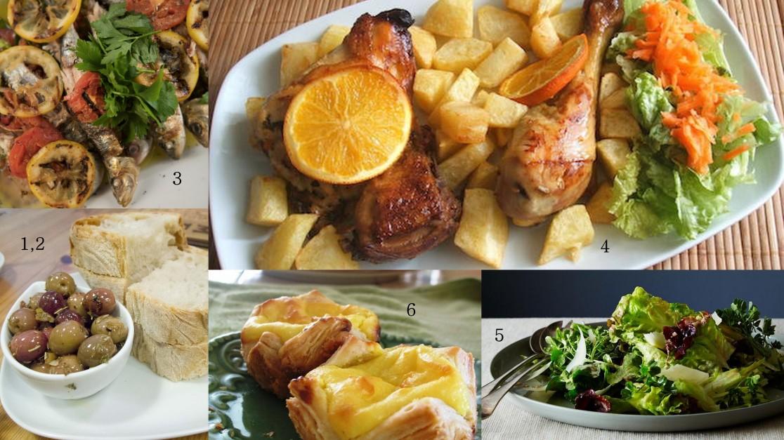 portugual foods