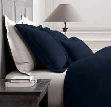 rh washed velvet bedding collection