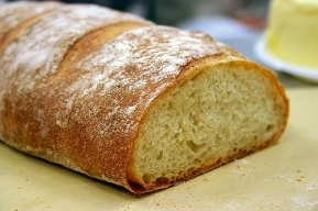 rustic white bread