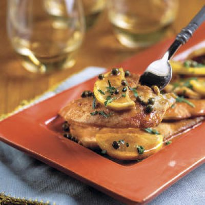turkey piccata via southern living