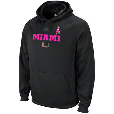 university of miami pink sweatshirt
