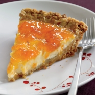 yogurt and apricot pie