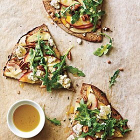 apple goat cheese and pecan pizza via cooking light