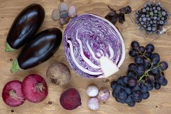 blue purple foods via beachbody