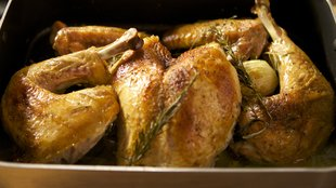 fastest roast turkey via nytimes