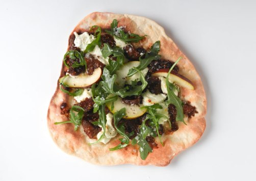 fig and goat cheese pizza via bon appetit
