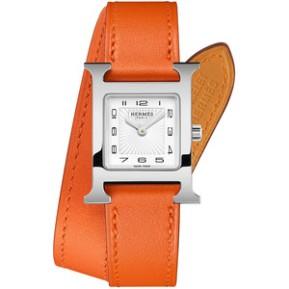hermes timepiece via polyvore