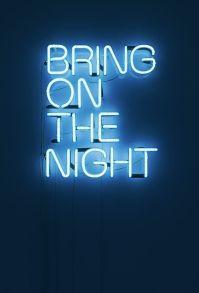 midnight blue art via behance
