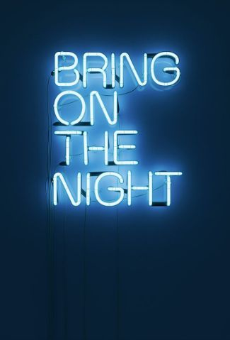 midnight blue art via behance