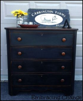 midnight blue dresser via staceyembracingchange