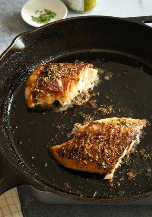 pan roasted fish fillet