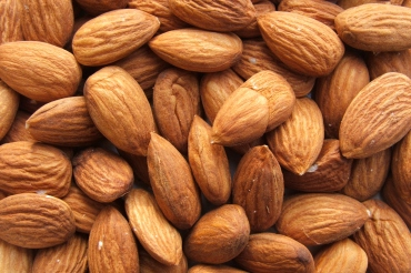 almonds via wikipedia