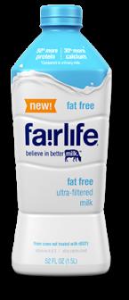 fairlife fat free milk
