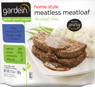 meatless meatloaf via gardein