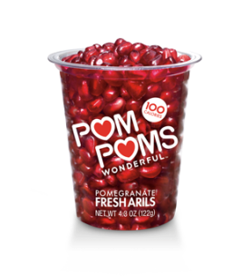 pomegranate arils via pom wonderful