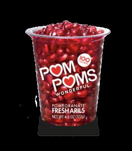 pomegranate arils via pom wonderful