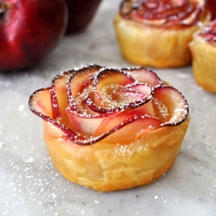 apple dessert rose via country living