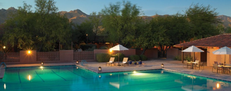 canyon ranch spa tucson az pool via just luxe