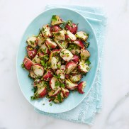 chimichurri potato salad via redbook mag