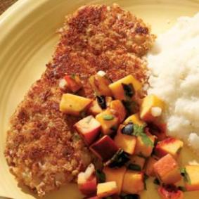 pecan crusted turkey tenderloin via eating well