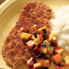 pecan crusted turkey tenderloin via eating well
