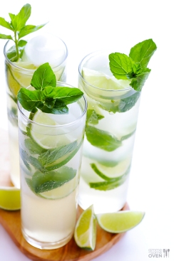 ginger beer mojito via gimme some oven