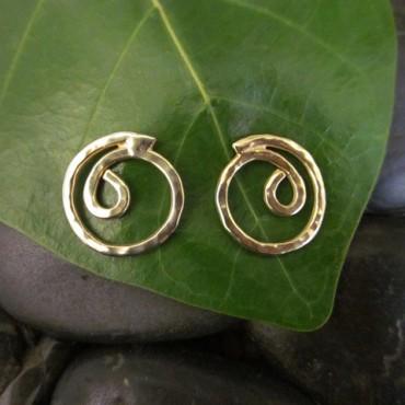 gratitude earrings via ib designs usvi