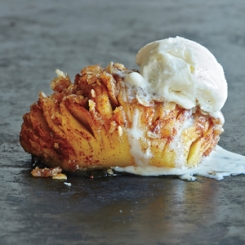 hasselback apples via cooking light