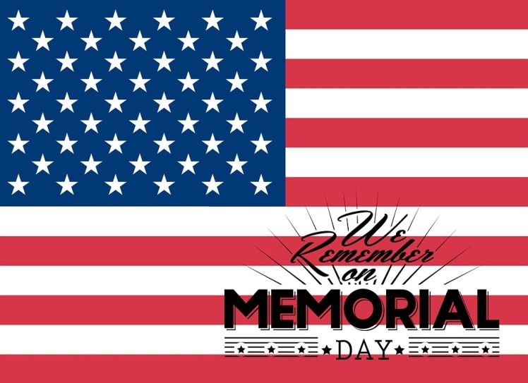 memorial day FREE image via pixabay
