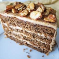 vegan gluten free maple nut cake via fragrant vanilla