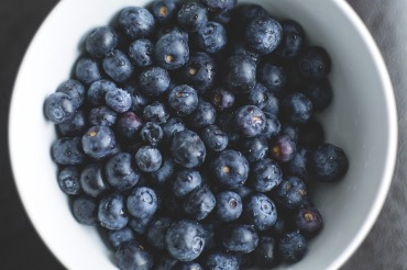 blueberry bowl - FREE IMAGE via pixabay