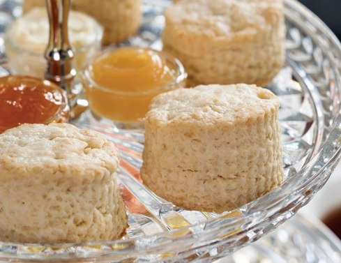 cream scones via tea time magazine