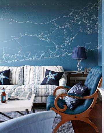 map room via house beautiful