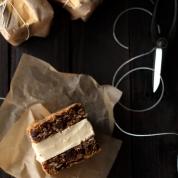 oatmeal cookie ice cream sandwiches via food and wine