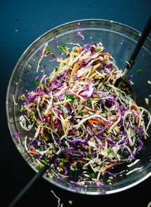 simple seedy slaw via cooke and kate