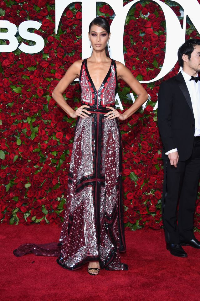 tony awards 2016 - joan smalls via yahoo