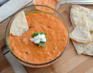 vegan queso dip via she knows