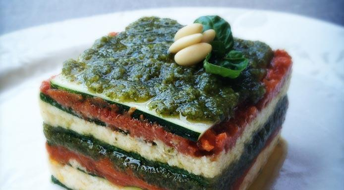 zucchini raw vegan lasagna via fine dining lovers